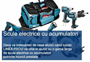Scule electrice cu acumulator